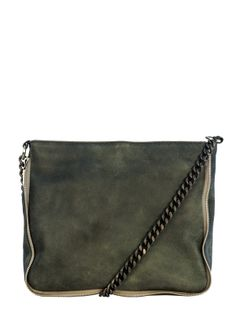 LABPAD GREEN LEATHER BAG | GIRISSIMA.COM - Collectible fashion to love and to last
