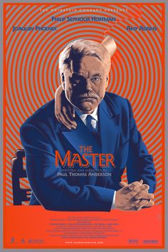 The Master (Paul Thomas Anderson, 2012) Mondo Oscar 2012 Series design by Laurent Durieux