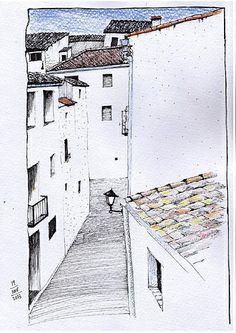 casas pueblo by Josep Castellanos.