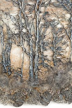 tree/forest series distant forest (detail) 122cm x 104cm