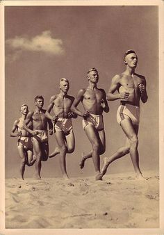 : Picture postcards and topics Third Reich Propaganda, Organisations, others American Modern, Picture Postcards, Lovers And Friends, Hot Flashes, Male Figure, Modern Man, Male Beauty, Erotic Art, Time Travel