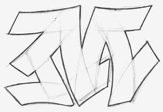 Guide on drawing graffiti letters step-by-step. Letter structure is essential in graffiti, without it you got nothing. Get it right with a proper tutorial.