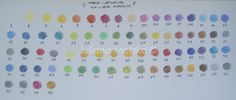 Juliana Motzko Artes: Review: Lápis de Cor Aquareláveis Koh-I-Noor Mondeluz 72 cores