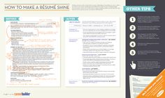 How To Make Your Resume or CV Shine