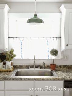 ~rooms FOR rent~ Green Enamel Warehouse Pendant sneak peak--January & 51 best Pendant Lights over Kitchen Islands images on Pinterest ...