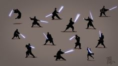 LIGHTSABER POSES