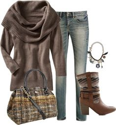 Fall weekend casual outfit