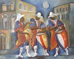 pinturas candombe tambores - Buscar con Google