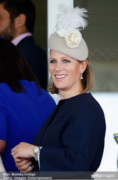 Zara Phillips Tindall, April 11, 2015   Royal Hats