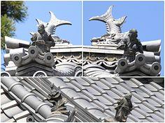 源信寺の瓦