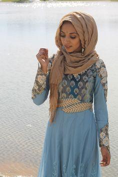 "Pinned via Nuriyah O. Martinez | modestyismystery: ""Eid Mubarak! instagram: @maidiares """