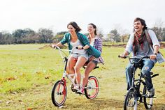 sentidos duetta sharing bike provides comfortable and fun ride for two