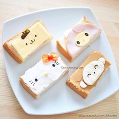 Sanrio sandwiches by Pax❤️Cute Food (@peaceloving_pax)