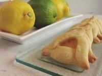 Lemon-lime hamantaschen for #Purim