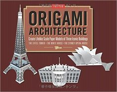 Amazon.com: Origami Architecture Kit: Create Lifelike Scale Paper Models of Three Iconic Buildings [Origami Kit with Book, Pre-Cut Card Stock] (9784805312438): Yee: Books