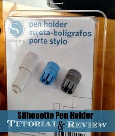 Silhouette Pen Holder Review and Tutorial #Silhouette #Silhouetteideas #silhouetteprojects #silhouettecameo #silhouettetutorials #silhouettesketchpens