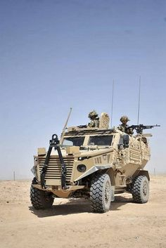 British Military Vehicle Foxhound (Gizmodo, 2012)