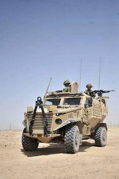 British Military Vehicle Foxhound (Gizmodo, 2012)