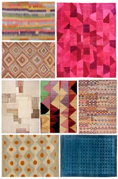 Loom.  Images of rugs I'm imagining the patterns as bed covers.  Via Justina Blakeney.