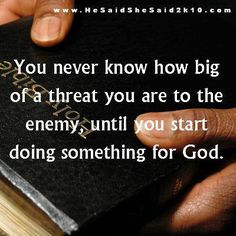 That is certainly when the devil starts taking hold as tight as he can with whomever is willing to accept him. Stay away from those people!
