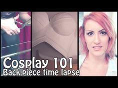 Celestia Breastplate with black Worbla - YouTube