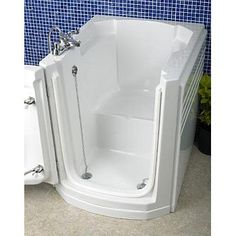With its simple to open watertight door, the Appollo Maxi Walk-In Tub allows easy access to comfortable bathing. Relax on the moulded seat or enjoy the optional shower from either a standing or sitting position.
