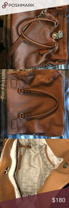 MK hamilton handbag Large hamilton geniune leather satchel MICHAEL Michael Kors Bags Satchels