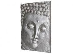 Cuadro Buda plata