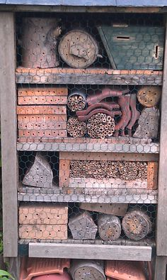 Bug Hotel in the garden