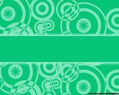 Green Retro Powerpoint Template