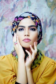 beautiful wrapped turban