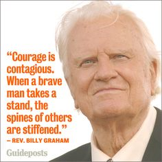 Love this quote. Love Billy Graham.