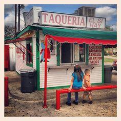 Taqueria El Si Hay, Bishop Arts District, Oak Cliff, Dallas - This is the place! Great tacos!