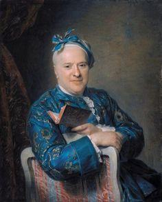 Maurice-Quentin de la Tour, Portrait of Pierre-Louis Laideguive, notaire at the Chatelet, King secretary, 1760