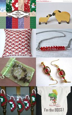 Women's Gift Guide to Christmas in July by Steve and Vicki Steinhauer on Etsy--Pinned with TreasuryPin.com