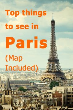 Top things to see in Paris - How to make the most of your visit, seeing the best spots in Paris without paying anything or standing in lines.