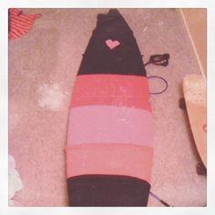Eco friendly surf board case! #DIY #dareyourself