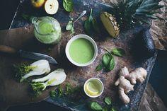 Холодный суп-пюре или смузи