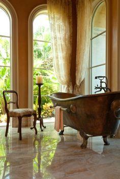 Clawfoot Tub Bathroom Design Ideas, Pictures, Remodel and Decor Home Design, Interior Design, Design Ideas, Dream Bathrooms, Beautiful Bathrooms, Luxury Bathrooms, Bathrooms Online, Country Bathrooms, Chic Bathrooms