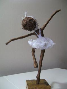 Ballet dancer. Sculpture of Ballerina. von Stephaniessculptures