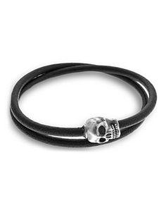 Tateossian Silver Skull Wrap Bracelet   Bloomingdale's