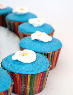 Tarta Hawaiana,cupcakes  hawaianos