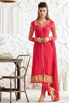 Classy Coral Red Party Wear Suit  https://www.ethanica.com/products/classy-coral-red-party-wear-suit