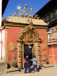 Golden Gate (newari), Bhaktapur Nepal