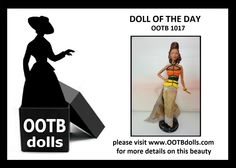 06.17.14 - Today, we are previewing doll OOTB 1017, who will be debut at the upcoming NBDCC Nashville! She is a high fashion interpretation of African couture. The bead top without any fabric backing was an experiment that took 4 tries to get it right on doll form! Enjoy!  Please visit our website for more details on this beauty! www.OOTBdolls.com