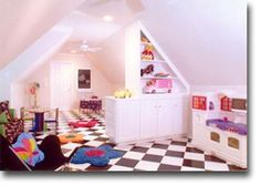 playroom in attic crawl space - Yahoo Image Search Results