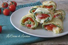 Involtini di Zucchine Pomodoro e Mozzarella