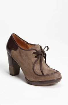 I love these two tone Taupe/Brown lace-up booties! Naya 'Mindy' Boot | Nordstrom.