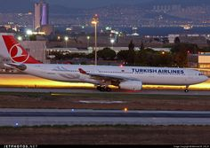 Turkish Airlines Airbus A330-343E TC-JNM 1212 Istanbul Ataturk/Yesilkoy Int'l Airport - LTBA