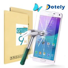 0.33mm 9h Hardness Featuring Anti-Scratch Galaxy Note 4 Tempered Glass Screen Protector contact amy@dotely.net skype:ro.amy1  what's app:86 13689558190